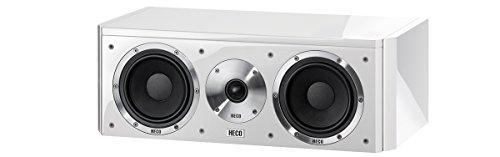 Heco Aleva GT Center 32 100 W Weiß Lautsprecher – Lautsprecher (2-Wege, 1.0 Kanäle, kabelgebunden, 100 W, 35-42000 Hz, weiß)