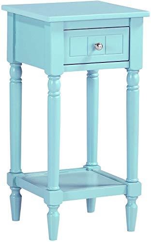 Convenience Concepts French Country Khloe Accent Table, Sea Foam