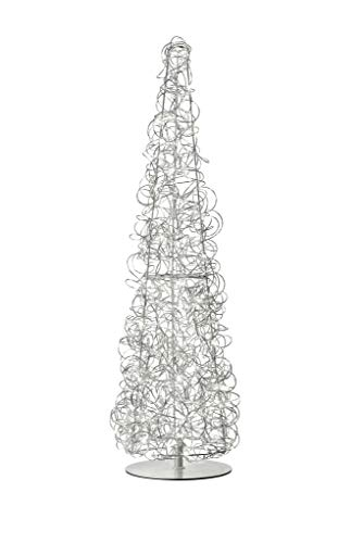 Sompex Deko- / Stehleuchte Curly, 100cm, LED, Aluminium