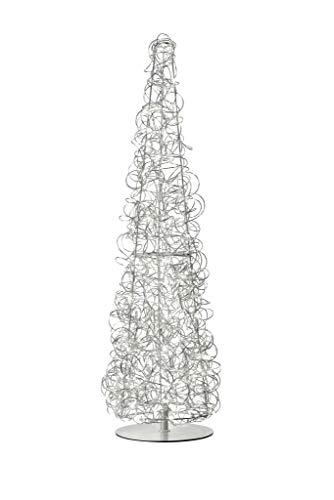 Sompex – Lámpara de pie filamento aluminio plateado 100 c