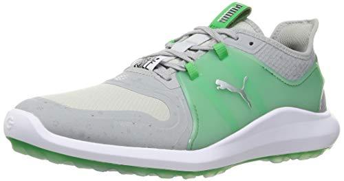 Puma 194700, Zapatos de Golf Hombre, High Rise Island Verde, 40.5 EU