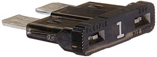 Bussmann BP/ATC-1-RP ATC Automotive Blade Fuse (1 Amp (Card)), 5 Pack