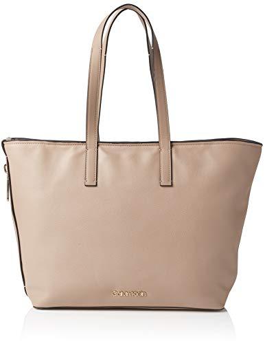 Calvin Klein Jeans - Drive Shopper, Shoppers y bolsos de hombro Mujer, Marrón (Tobacco), 15x30x45 cm (B x H T)