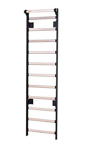 VSB24-80 24' Wide Stall Bars/Swedish Bars (with Chin-Up Bar) (80' Tall)