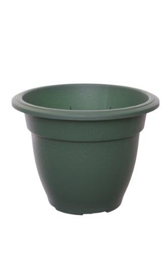 Whitefurze G03R55 Pot de Fleurs Cloche Vert forêt