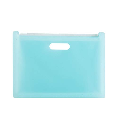 Almacenamiento de documentos Carpeta de archivos de extensión de caja de almacenamiento de recibos / Administrador de archivos de extensión A4 para Home Office Schoo ( Color : Blue , Size : One size )