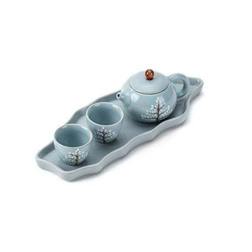 YINGGEXU Juego de té Juego de té, de cerámica de Estilo Chino, hogar, Oficina, Regalo