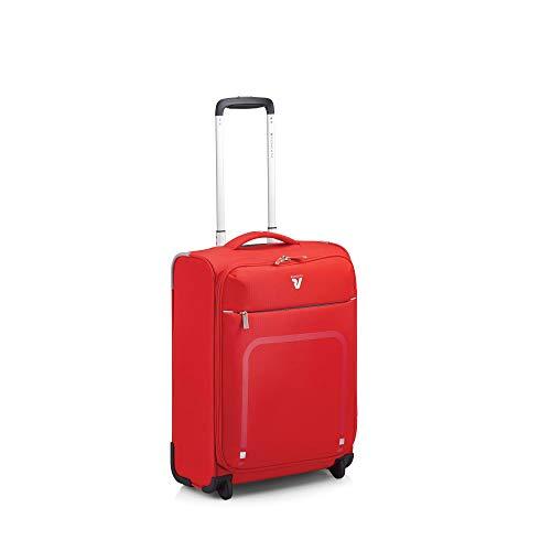 Roncato Lite Plus Maleta Cabina avión Rojo, Medida: 55 x 40 x 20 cm, Capacidad: 42 l, Pesas: 1.4 kg, Maleta Cabina avión ryanair