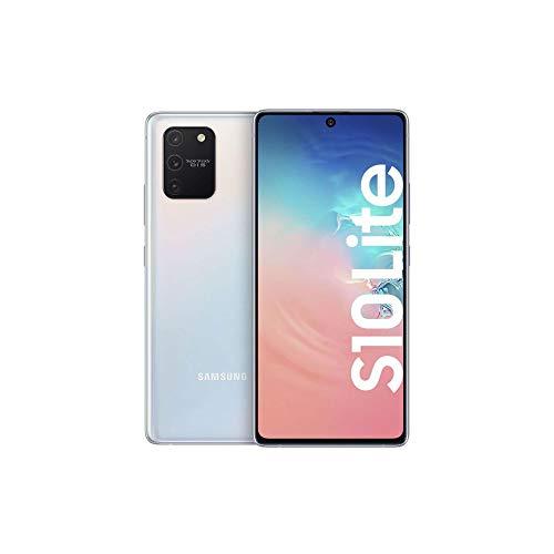 Samsung Galaxy S10 Lite Android Smartphone ohne Vertrag, 4.500 mAh Akku, Schnellldaden, 6,7 Zoll Super AMOLED Display, 128 GB/8 GB RAM, Dual SIM, Handy in weiß, deutsche Version