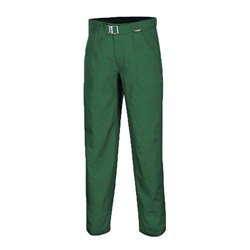 teXXor Pantalones Basic–Pantalones de trabajo para la industria y artesanía, 25, Verde, 8055