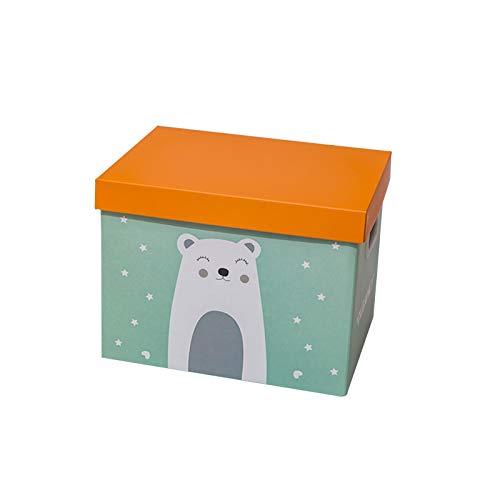 YUMEIGE Caja de almacenamiento de cosméticos Caja de almacenamiento de dibujos animados, caja de almacenamiento de papel, caja de regalo, juguete para bebés, caja de almacenamiento de bocadillos, caja