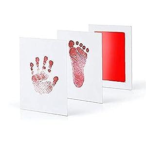 Souvenirs: Conçu pour capturer régulièrement les empreintes babys dans le livre de bébé pour suivre son / sa croissance et les aider à commémorer l'enfance babys Cadeau: Ce kit d'impression du nouveau-né est le cadeau parfait ou un souvenir, le bébé ...