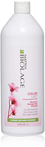 BIOLAGE Colorlast Shampoo | Helps Protect Hair & Maintain Vibrant Color | Paraben-Free | For Color-Treated Hair | 33.8 Fl. Oz.