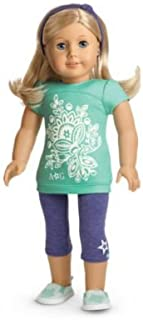 American Girl -  Tropical Bloom Outfit for Dolls + Charm - MY AG 2013