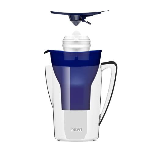 BWT - 815073 - Tischwasserfilter PENGUIN - 2,7 l, dunkelblau - Wasserfilterkanne mit 1 Filter-Kartusche für Magnesium Mineralized Water