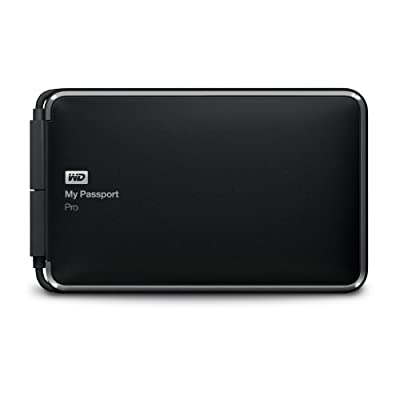 Western Digital WD My Passport Pro 4TB Portable RAID Storage with Integrated Thunderbolt Cable