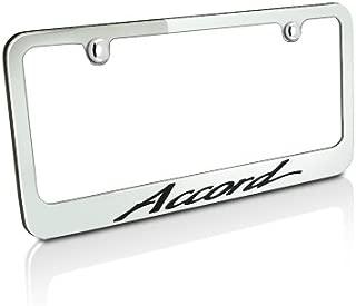 Best honda accord license plate frame Reviews