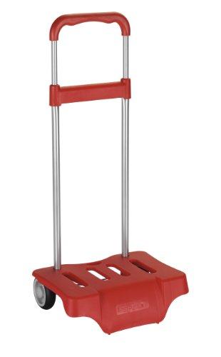 Safta 641076905 - Carrito, Portamochilas, Color Rojo, 50 cm