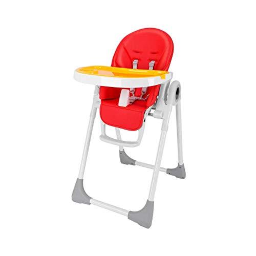 N/Z Living Equipment Silla para bebé Trona Portátil Toler Mesa Silla Elevador Plegable Ajustable