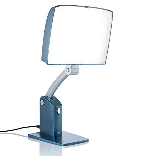 Buy Carex Day-Light Sky Bright Light Therapy Lamp - 10,000 LUX - Sun Lamp To Combat Winter Blues and...