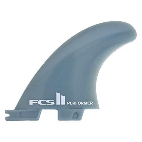FCS II Performer Glass Flex Surfboard Tri Fin Set Medium