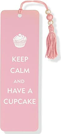 Keep Calm and Have a Cupcake Beaded Bookmark by Peter Pauper Press(2010-02-01)