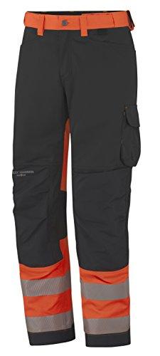 Helly Hansen Workwear Waarschuwingsbescherming Bandbroek York Pant CL 1 Werkbroek D116 oranje