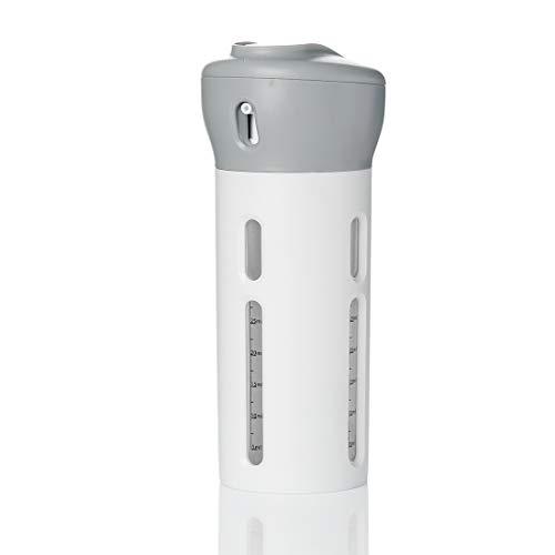 Signstek - Set di 4 bottiglie da viaggio 4 in 1 per articoli da toilette PET da 40 ml