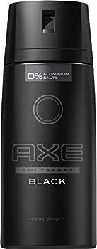 axe body spray black