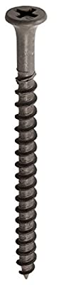 Grip-Rite PTN325B 8-by-3-Inch Coarse Thread Exterior Screws with Bugle Head, Grey, 25-Pound Bucket