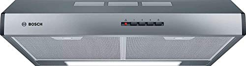 Bosch Serie 4 DUL63CC55 - Campana convencional, 60 cm, Convencional, Acero inoxidable [Clase de eficiencia energética D]