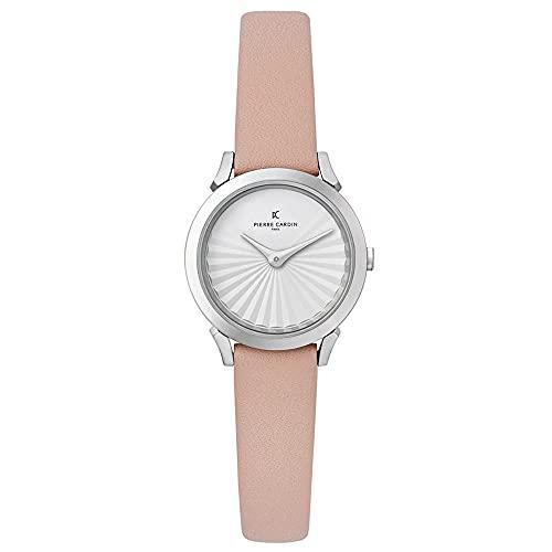 Pierre Cardin CPI.2506 - Reloj de pulsera para mujer (cuarzo, acero inoxidable, correa de piel)