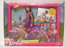 Mattel Barbie Collector # V3131Sister 's Bike for Two