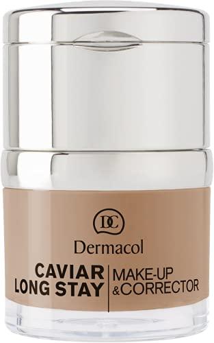 Dermacol Caviar Long Stay Maquillaje Corrector, Tono: Nude - 30 ml