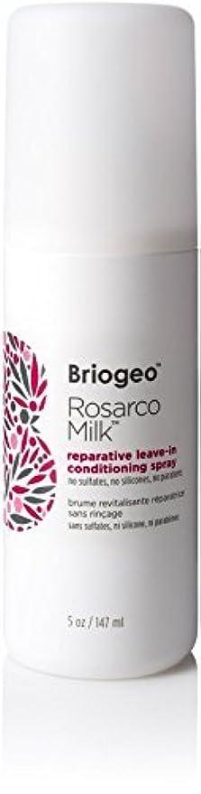 Briogeo Rosarco Milk Reparative Leave In Conditioning Spray - 5oz [並行輸入品]