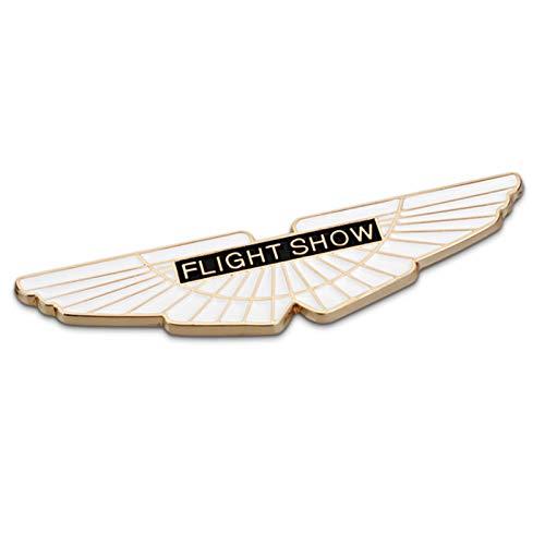 Auto Che Designa Gli Accessori in Metallo Logo Stemmi Emblemi per Front Cofano Posteriore Sticker Tronco per A-Ston M-Artin,d'oro