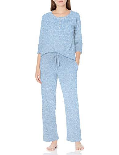 Carole Hochman Women's 3/4 Sleeve Long PJ, 497, L
