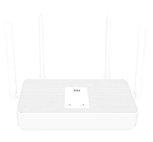 Xiaomi Mi Router AX1800 WiFi 6 2.4GHz/5GHz-1800 Mbps-Chip de 5 núcleos-4 antenas externas-Hasta 128 dispositivos-Mi Mesh