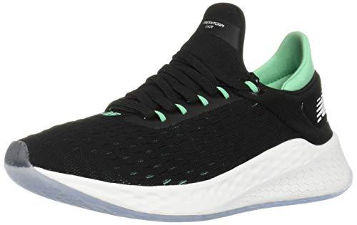 New Balance Fresh Foam LAZR v2 Hypoknit, Zapatillas para Hombre, Negro (Black/Neon Emerald Lb2), 44 EU