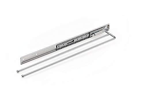 Naber Handtuchhalter De Luxe S, 2-armig, 110 mm, chrom