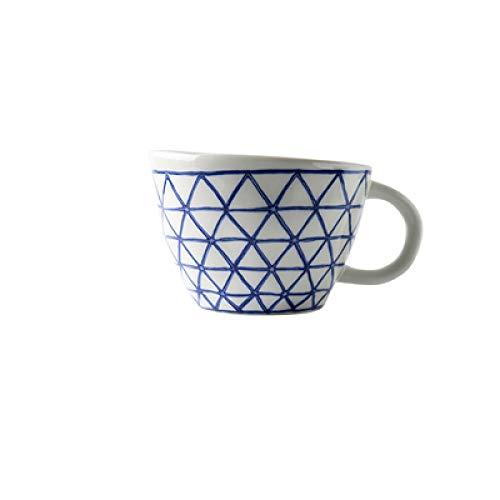 RONGXIANMA Taza Taza con Forma de cerámica Creativa Taza de Desayuno de café Simple de Calidad del Agua