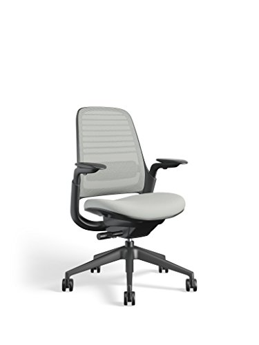 Steelcase Series 1 Work Office Chair, Nickel