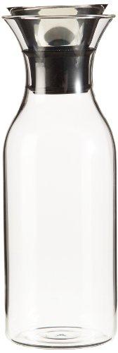 Eva Solo 567510 Caraffa da frigorifero, Acciaio Inox, Senza rivestimento, 1 Litro, Anti-goccia