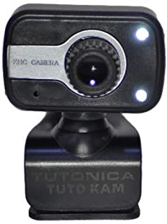 Tutonica TUTO-NP91 Portable HD Webcam1080p 30fps Camera with Mount Clip,Built-in Microphone,compatible with Laptop,PC Desk...