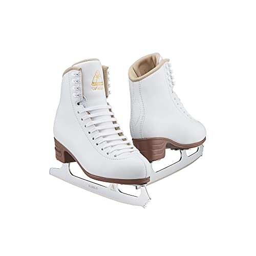 Jackson Ultima Artiste Figure Skates for Women and Girls in White| Olympian...