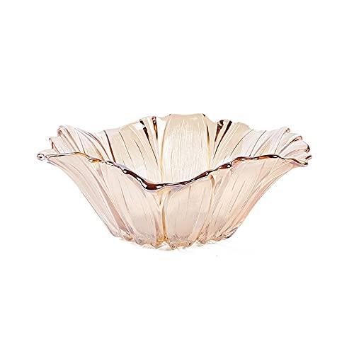 GCX Petal - Frutero de cristal europeo, diseño de personalidad creativa, color...