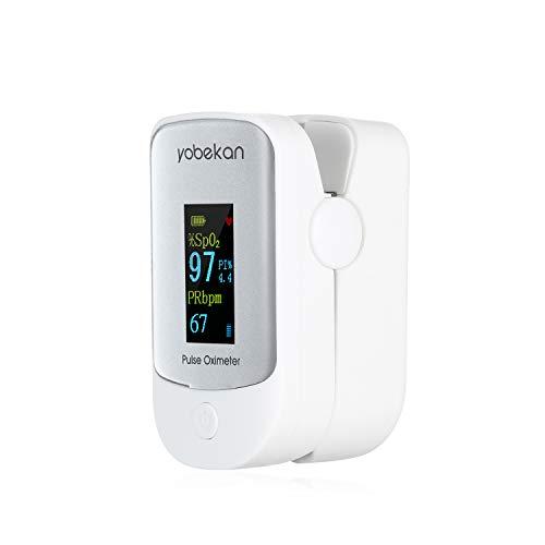 Entweg Pulsossimetro Ossigeno nel Sangue Monitor SpO2 Ossimetro LCD SpO2 PR Monitor PI Mini Misuratore di frequenza cardiaca Misuratore di Ossigeno nel Sangue 8s