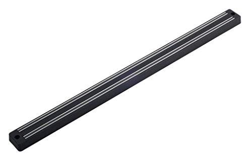 Metaltex Barre magnétique Magnetika Court 33cm, Argent, 28x28x18 cm