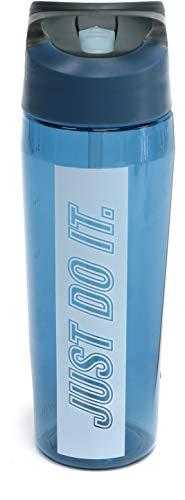 ナイキ マグ ボトル 水筒 水分補給 0.7リットル ワンタッチ オープン 給水 ストロー スポーツ/TR ハイパーチャージ ストローボトル 24oz HY4002 (926-サンダーストーム)