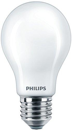 Philips Lighting Bombilla LED Estándar E27, 7 W, Fría, Pack de 2